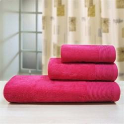 """Махровое полотенце """"Неон"""" красн. 33x70 (Х)"""