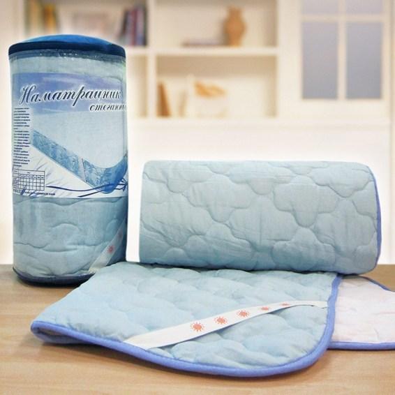 Наматрасник для кровати с эффектом