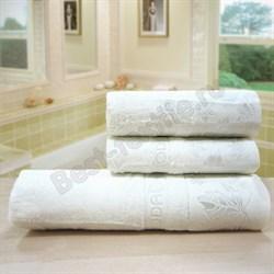 """Махровое полотенце 50*90 """"Modal Deco"""" бел. - фото 23669"""