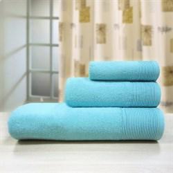 """Махровое полотенце """"Неон"""" син. 100х150 (Х) - фото 23901"""