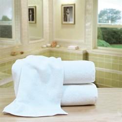 """Махровое полотенце """"Отельное"""" 40x70 белое - фото 24835"""
