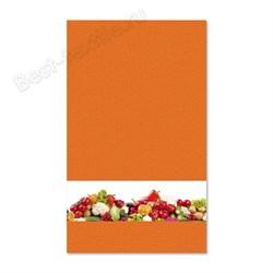 """Кухонное полотенце """"Овощи"""" оранж. - фото 25061"""