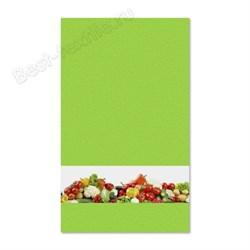 """Кухонное полотенце """"Овощи"""" зелен. - фото 25062"""