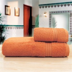"""Махровое полотенце """"Таис"""" беж 50х90 - фото 26371"""