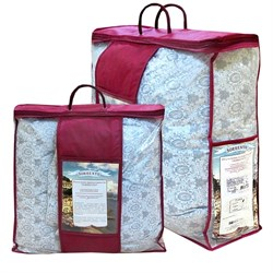 Одеяло 2.0-спальное Sorrento пух  классика Премиум 170X205 - фото 26663