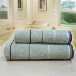 """Махровое полотенце """"Тренд"""" сер. 70x140 (Х) - фото 26903"""