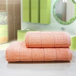 """Махровое полотенце """"Квадро"""" перс. 33x70 (Х) - фото 26982"""