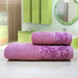 """Махровое полотенце """"Белиссимо"""" роз. 33x70 (Х) - фото 26993"""