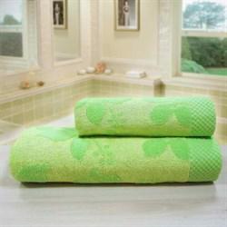 """Махровое полотенце """"Бьянка"""" 33x70 зел. (Б+Х) - фото 27373"""