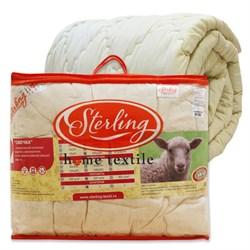 """Одеяло """"Стерлинг"""" овечья шерсть 1.5-Спальное спальное 140x205 - фото 27988"""