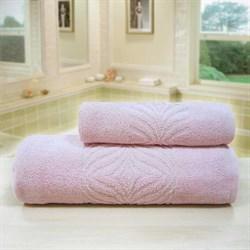 """Махровое полотенце """"Комфорт"""" роз. 33x70 (Х) - фото 28061"""