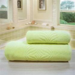 """Махровое полотенце """"Комфорт"""" желт. 33x70 (Х) - фото 28063"""