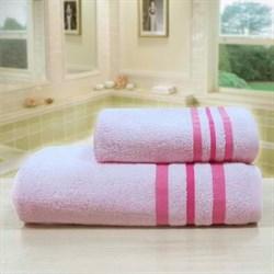 """Махровое полотенце """"Ассоль"""" роз. 45x90 (Х) - фото 28069"""