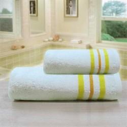 """Махровое полотенце """"Ассоль"""" крем. 65x130 (Х) - фото 28076"""