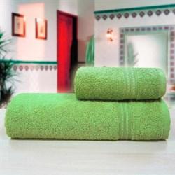 """Махровое полотенце """"Таис"""" зел. 70x140 - фото 28197"""