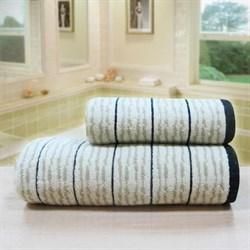 """Махровое полотенце """"Бриз"""" беж. 33x70 (Х) - фото 28521"""