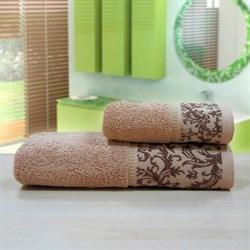 """Махровое полотенце """"Белиссимо"""" кор. 50x90 (Х) - фото 28526"""