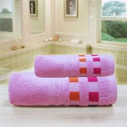 """Махровое полотенце """"Каприз"""" роз. 65x130 (Х) - фото 28530"""