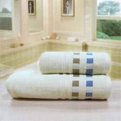 """Махровое полотенце """"Каприз"""" беж. 45x90 (Х) - фото 28536"""