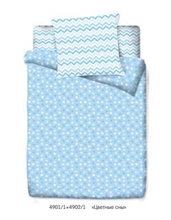 """Комплект в кроватку Маленькая Соня """"Цветные сны"""" (3 предмета) - фото 29046"""