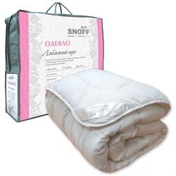 Одеяло для Snoff 1.5-Спальное лебяжий пух классическое 140*205 - фото 29092
