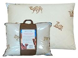 Подушка 70*70 верблюжья шерсть SORRENTO стеганная наволочка - фото 29191