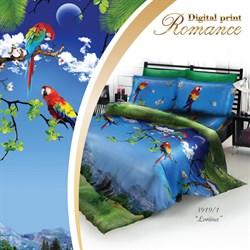 Постельное белье 3D 1.5-Спальное Romance DP Лориина Сатин - фото 29235
