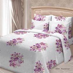 Постельное белье 1.5-Спальное SORRENTO Deluxe Виолетта 2 наволочки 70*70 - фото 29241