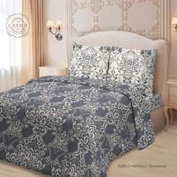 Комплект постельного белья евро Для SNOFF сатин Султанна - фото 29415