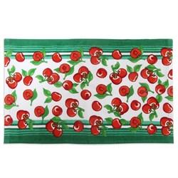 Махровые полотенца  Кухня Черешня 30* 50 зеленые - фото 29435