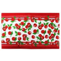Махровые полотенца ВТ Кухня Черешня 30* 50 красные - фото 29437