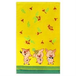 Махровые полотенца  Кухня Жёлуди 30* 50 желтые - фото 29441