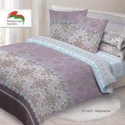 Комплект постельного белья 1.5 Спал Спалыч Белорусь рис.5214-1 Марселла - фото 29598