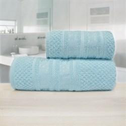 Махровые полотенца Зенит 33* 70 синий - фото 30131