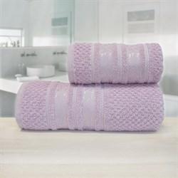 Махровые полотенца Зенит  50* 90 розовое - фото 30133