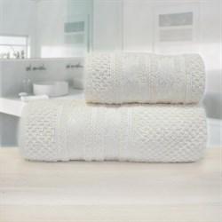 Махровые полотенца Зенит 70*140 крем - фото 30135