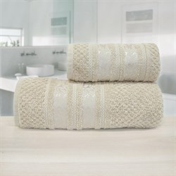 Махровые полотенца Зенит 50* 90 беж - фото 30139