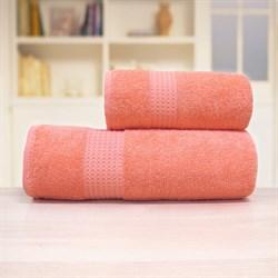 """Махровое полотенце """"Самур"""" хлопок роз 33х70 - фото 30143"""