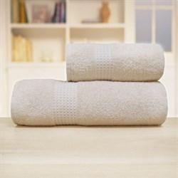 Махровые полотенца Самур  70*140 крем - фото 30168