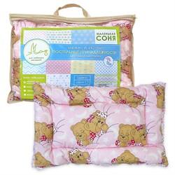 Подушка 40*60 «Лебяжий пух» для новорожденных Маленькая Соня - фото 30479