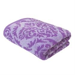 Махровые полотенца Изабелла L 70*140 фиол - фото 30488