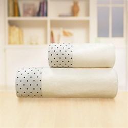 Махровые полотенца Жозефина L 70*140 крем - фото 30492