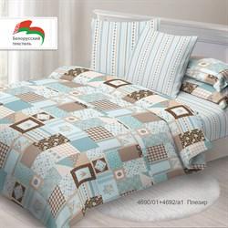 Комплект постельного белья 1.5 Спал Спалыч NEW  рис.4690-1+4692-1 Плезир - фото 30562