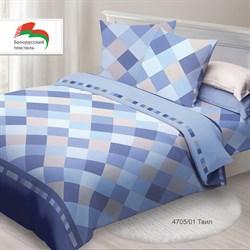 Комплект постельного белья 1.5 Спал Спалыч NEW рис.4705-1 Твил - фото 30563