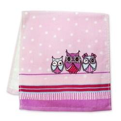Махровые полотенца Совушки 33* 70 - фото 30579