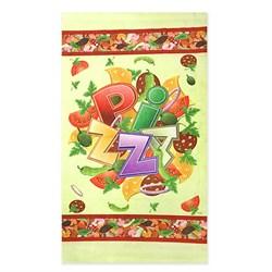 Кухонные полот Домовенок 38*64 микрофибра Пицца - фото 30624