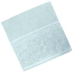 Махровые полотенца Марта L 70*130 аква - фото 30659