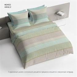 Комплект постельного белья 2.0 макси Браво 100% хлопок рис.4454-2 Фонсо - фото 30746