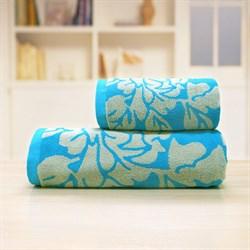 Махровые полотенце Екатерина 33* 70 син - фото 31148