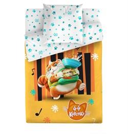 КПБ 1.5сп 44 котёнка м110.13.04 рис.4501-1+4501а-1 Пончик - фото 31247